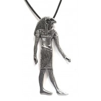 Horus Large Egyptian God Necklace Jewelry Gem Shop  Sterling Silver Jewerly | Gemstone Jewelry | Unique Jewelry