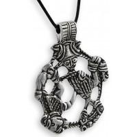 Loki Pewter Norse God Pendant