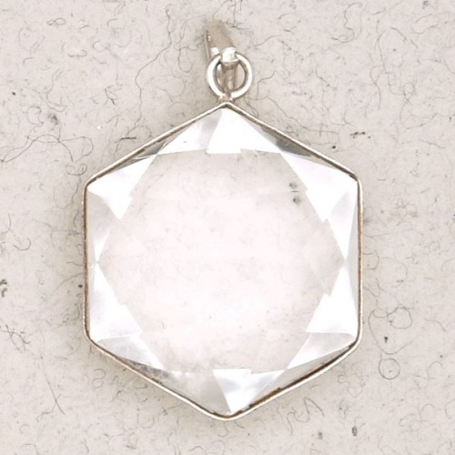 Clear Quartz 6 Point Prisma Star Pendant at Jewelry Gem Shop,  Sterling Silver Jewerly | Gemstone Jewelry | Unique Jewelry