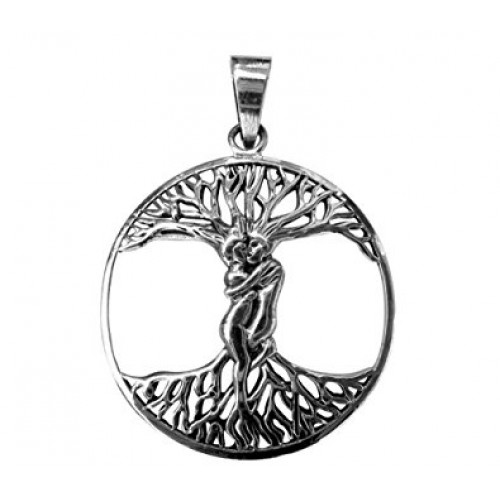 Lovers Tree of Life Sterling Silver Pendant at Jewelry Gem Shop,  Sterling Silver Jewerly | Gemstone Jewelry | Unique Jewelry