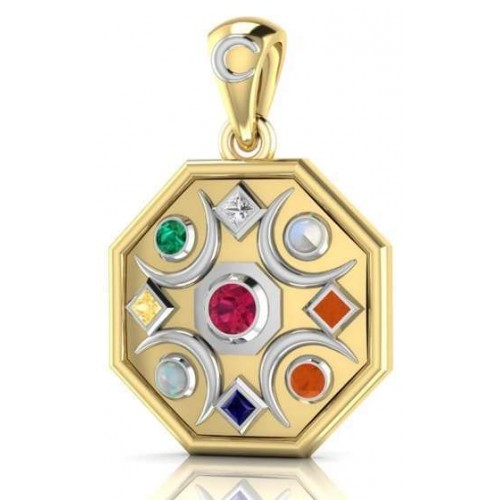 Chandra Moon Gemstone Gold Plated Pendant at Jewelry Gem Shop,  Sterling Silver Jewerly | Gemstone Jewelry | Unique Jewelry