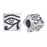 Eye of Horus Square Bead Jewelry Gem Shop  Sterling Silver Jewerly | Gemstone Jewelry | Unique Jewelry