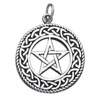 Celtic Border Pentacle Sterling Silver Pendant Jewelry Gem Shop  Sterling Silver Jewerly | Gemstone Jewelry | Unique Jewelry