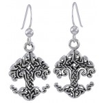 Celtic Tree of Life Sterling Silver Earrings at Jewelry Gem Shop,  Sterling Silver Jewerly | Gemstone Jewelry | Unique Jewelry