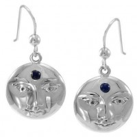 Blue Moon Laurie Cabot Sterling Earrings