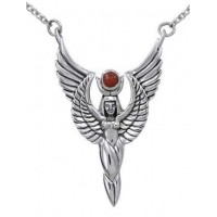 Winged Isis by Oberon Zell Silver or Gold Necklace Jewelry Gem Shop  Sterling Silver Jewerly | Gemstone Jewelry | Unique Jewelry