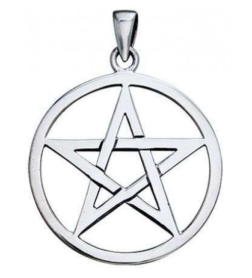 Pentagram Sterling Silver Pendant at Jewelry Gem Shop,  Sterling Silver Jewerly | Gemstone Jewelry | Unique Jewelry