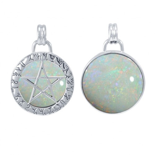 Hidden Pentacle Theban Opal Pentagram Pendant at Jewelry Gem Shop,  Sterling Silver Jewerly | Gemstone Jewelry | Unique Jewelry