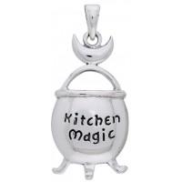 Kitchen Magic Cauldron Pendant in Sterling Silver Jewelry Gem Shop  Sterling Silver Jewerly   Gemstone Jewelry   Unique Jewelry