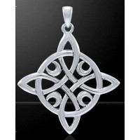 Quaternary Celtic Cross Silver Pendant Jewelry Gem Shop  Sterling Silver Jewerly | Gemstone Jewelry | Unique Jewelry