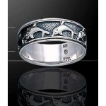 Dolphin Sterling Silver Fidget  Spinner Ring at Jewelry Gem Shop,  Sterling Silver Jewerly | Gemstone Jewelry | Unique Jewelry
