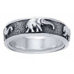 Elephant Sterling Silver Fidget Spinner Ring at Jewelry Gem Shop,  Sterling Silver Jewerly   Gemstone Jewelry   Unique Jewelry