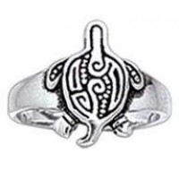 Aboriginal Turtle Silver Toe Ring Jewelry Gem Shop  Sterling Silver Jewerly | Gemstone Jewelry | Unique Jewelry