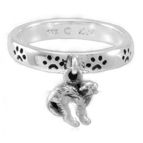 Cat Familiar Laurie Cabot Paw Print Ring at Jewelry Gem Shop,  Sterling Silver Jewerly | Gemstone Jewelry | Unique Jewelry