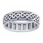Celtic Knot Solid Sterling Silver Fidget  Spinner Ring at Jewelry Gem Shop,  Sterling Silver Jewerly | Gemstone Jewelry | Unique Jewelry
