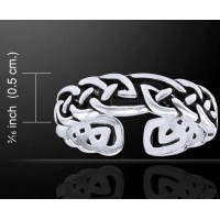 Celtic Knot Silver Toe Ring Jewelry Gem Shop  Sterling Silver Jewerly | Gemstone Jewelry | Unique Jewelry