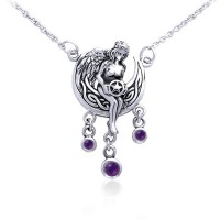 Angels Gift Of Magick Amethyst Necklace