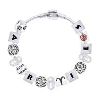 Aries Astrology Bead Bracelet