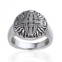 Celtic Cross of St Brigid Silver Ring Jewelry Gem Shop  Sterling Silver Jewerly | Gemstone Jewelry | Unique Jewelry