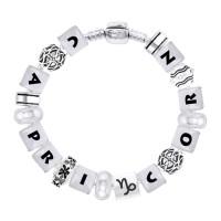 Capricorn Astrology Bead Bracelet