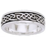 Celtic Knot Sterling Silver Fidget  Spinner Ring at Jewelry Gem Shop,  Sterling Silver Jewerly | Gemstone Jewelry | Unique Jewelry