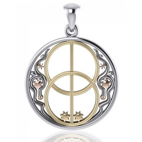 Chalice Well Pendant at Jewelry Gem Shop,  Sterling Silver Jewerly | Gemstone Jewelry | Unique Jewelry