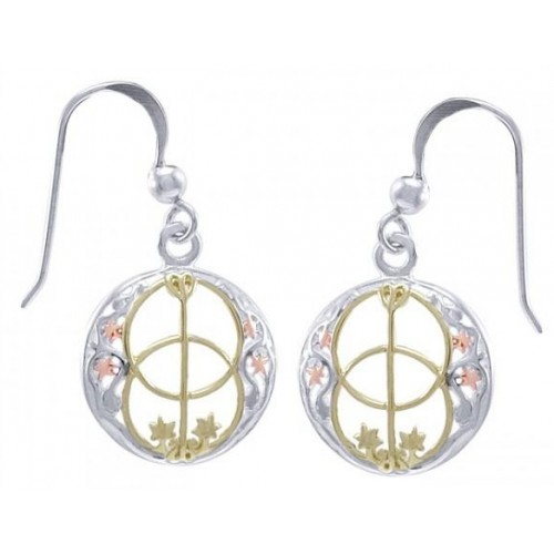 Chalice Well Earrings at Jewelry Gem Shop,  Sterling Silver Jewerly | Gemstone Jewelry | Unique Jewelry