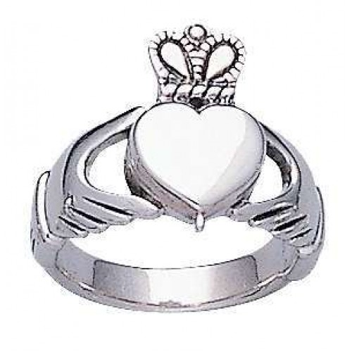 Celtic Claddagh Silver Poison Ring at Jewelry Gem Shop,  Sterling Silver Jewerly   Gemstone Jewelry   Unique Jewelry