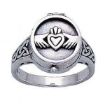Claddagh Silver Poison Ring at Jewelry Gem Shop,  Sterling Silver Jewerly | Gemstone Jewelry | Unique Jewelry