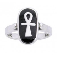 Ankh Sterling Silver Egyptian Ring Jewelry Gem Shop  Sterling Silver Jewerly | Gemstone Jewelry | Unique Jewelry