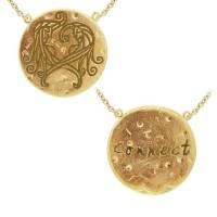 Gemini Astrology Vermeil Necklace
