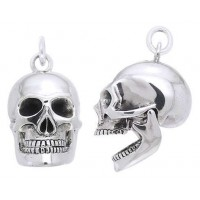 Skull Sterling Silver Pendant with Movable Jaw Jewelry Gem Shop  Sterling Silver Jewerly | Gemstone Jewelry | Unique Jewelry