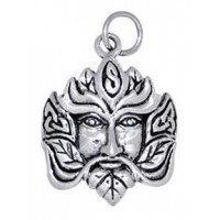 Green Man Sterling Silver Charm Jewelry Gem Shop  Sterling Silver Jewerly | Gemstone Jewelry | Unique Jewelry