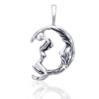 Moon Goddess Movable Pendant Jewelry Gem Shop  Sterling Silver Jewerly | Gemstone Jewelry | Unique Jewelry