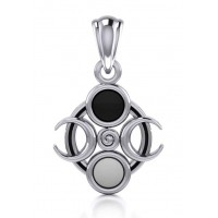 Magick Moon Silver Pendant Jewelry Gem Shop  Sterling Silver Jewerly | Gemstone Jewelry | Unique Jewelry