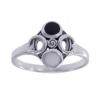 Moon Magick Sterling Silver Ring