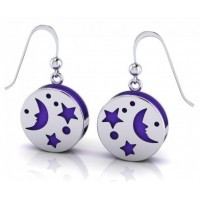 Silver Moon Aromatherapy Earrings