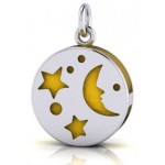 Silver Moon Aromatherapy Pendant at Jewelry Gem Shop,  Sterling Silver Jewerly | Gemstone Jewelry | Unique Jewelry