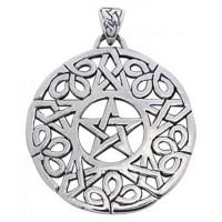 Knotwork Pentacle Pendant