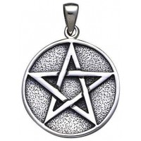 Pentacle Solid Silver Pentagram Pendant Jewelry Gem Shop  Sterling Silver Jewerly | Gemstone Jewelry | Unique Jewelry