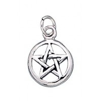 Pentacle Sterling Silver Charm
