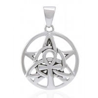 Sacred Symbol Sterling Silver Pendant