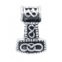 Small Thors Hammer Mjolnir Pendant Jewelry Gem Shop  Sterling Silver Jewerly | Gemstone Jewelry | Unique Jewelry