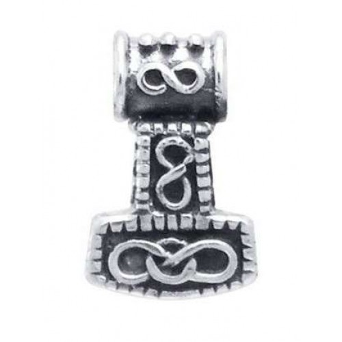 Small Thors Hammer Mjolnir Pendant at Jewelry Gem Shop,  Sterling Silver Jewerly | Gemstone Jewelry | Unique Jewelry