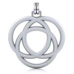 Avalon Triad Silver Unity Pendant at Jewelry Gem Shop,  Sterling Silver Jewerly   Gemstone Jewelry   Unique Jewelry