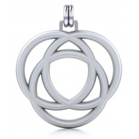 Avalon Triad Silver Unity Pendant Jewelry Gem Shop  Sterling Silver Jewerly | Gemstone Jewelry | Unique Jewelry