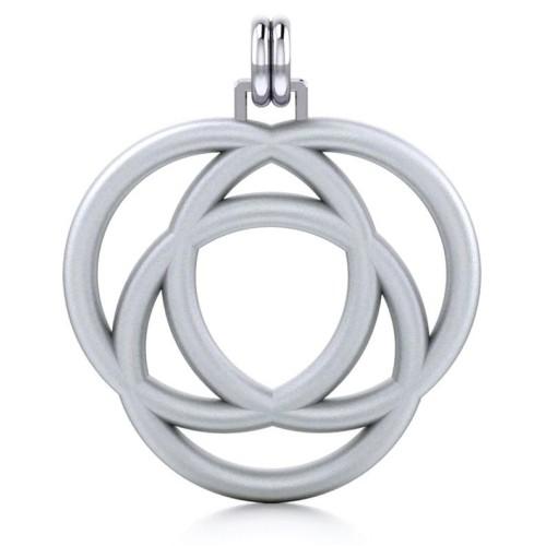 Avalon Triad Silver Unity Pendant at Jewelry Gem Shop,  Sterling Silver Jewerly | Gemstone Jewelry | Unique Jewelry