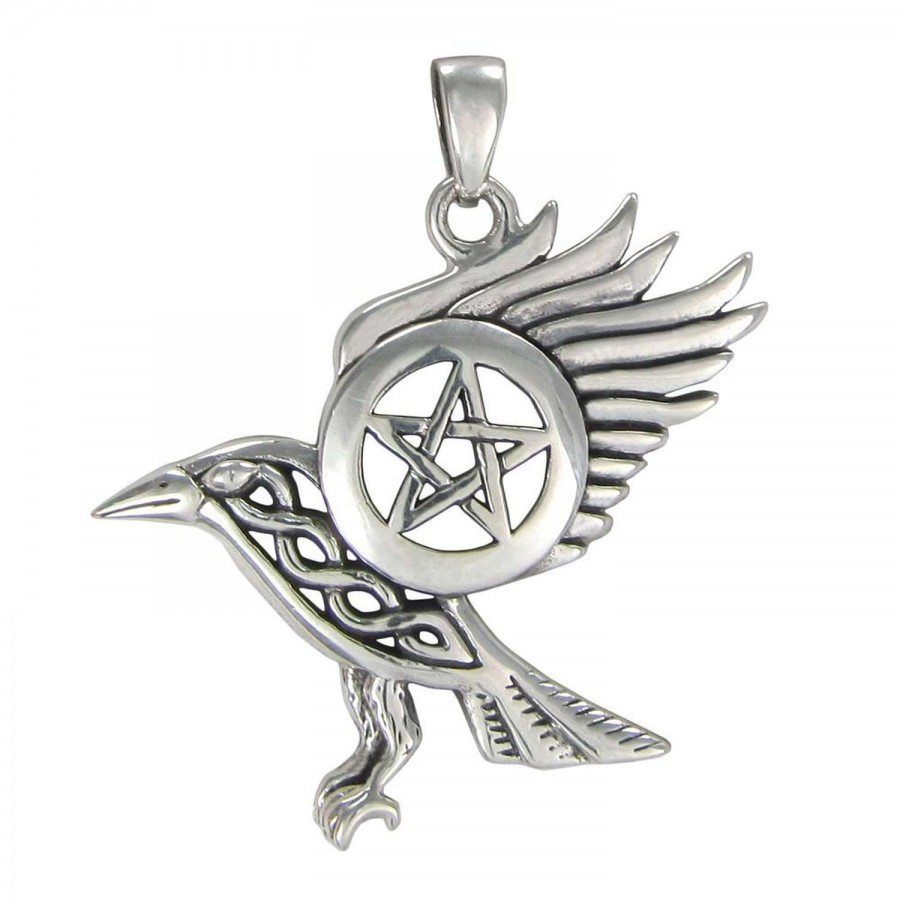 wings guardian pendant a winged model shown sterling chain dogeared silver angel on charm necklace