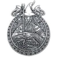 Wizard Magickal Sterling Silver Pendant