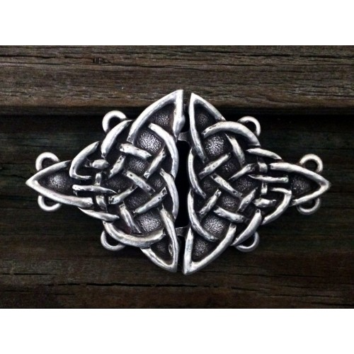 Celtic Triquetra Knot Cloak Clasp at Jewelry Gem Shop,  Sterling Silver Jewerly | Gemstone Jewelry | Unique Jewelry